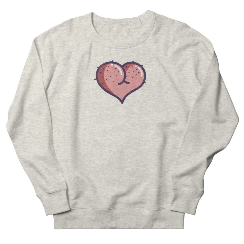 Ass Heart Men's Sweatshirt by Os Frontis