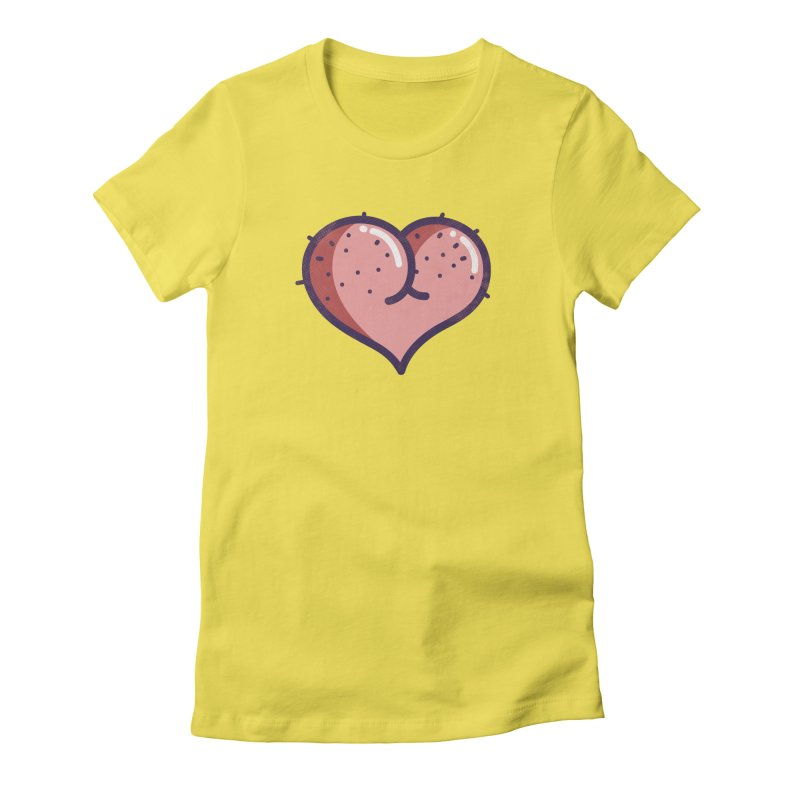 Ass Heart Women's T-Shirt by Os Frontis