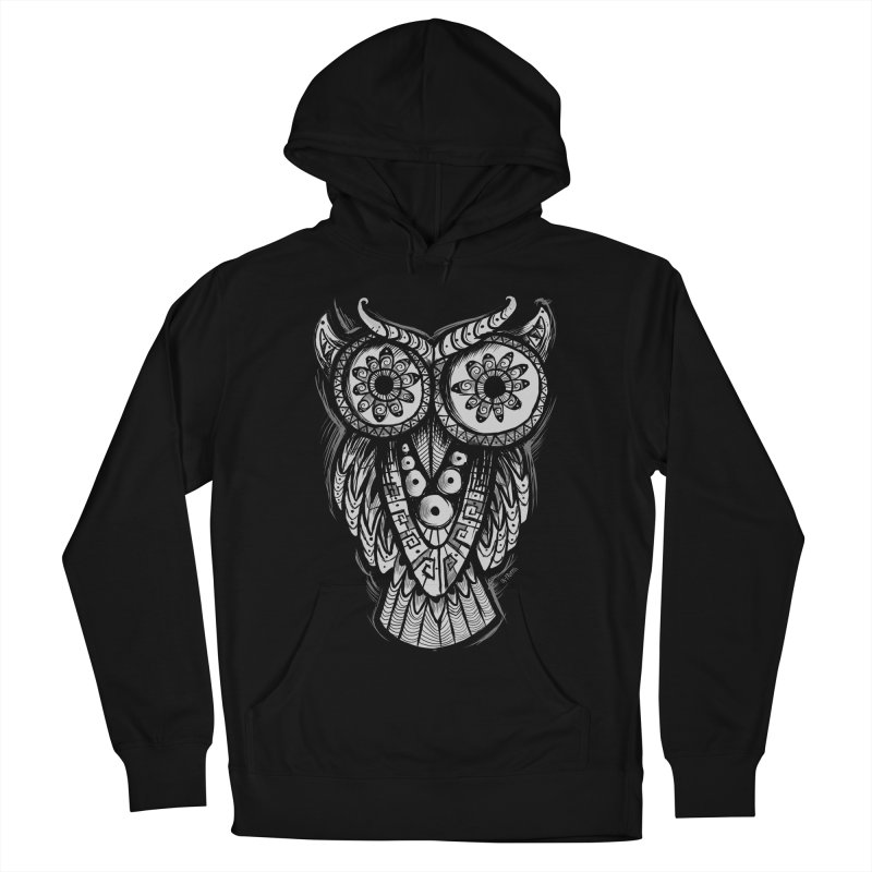 Owl Shaman Women's Pullover Hoody by Os Frontis