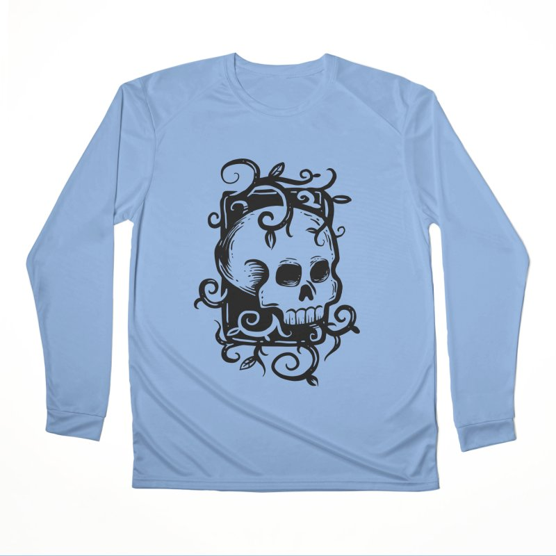 Retro Skull Men's Longsleeve T-Shirt by Os Frontis