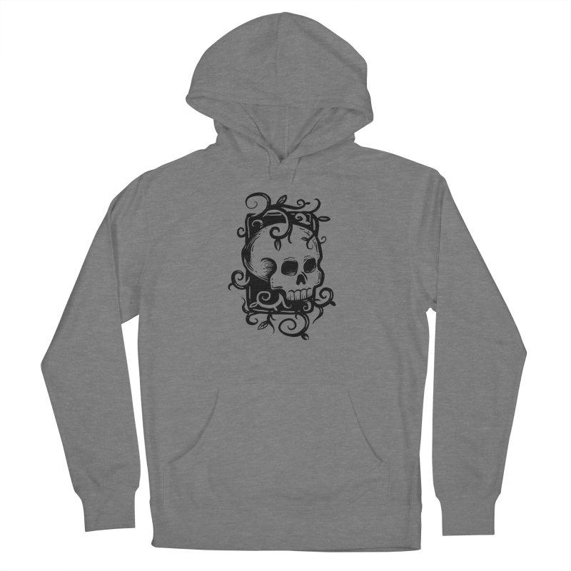 Retro Skull Women's Pullover Hoody by Os Frontis