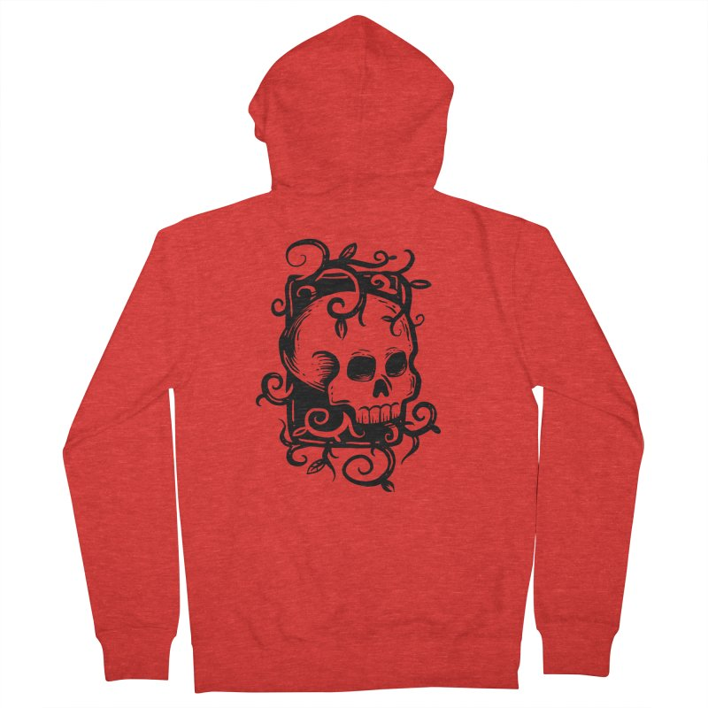 Retro Skull Women's Zip-Up Hoody by Os Frontis