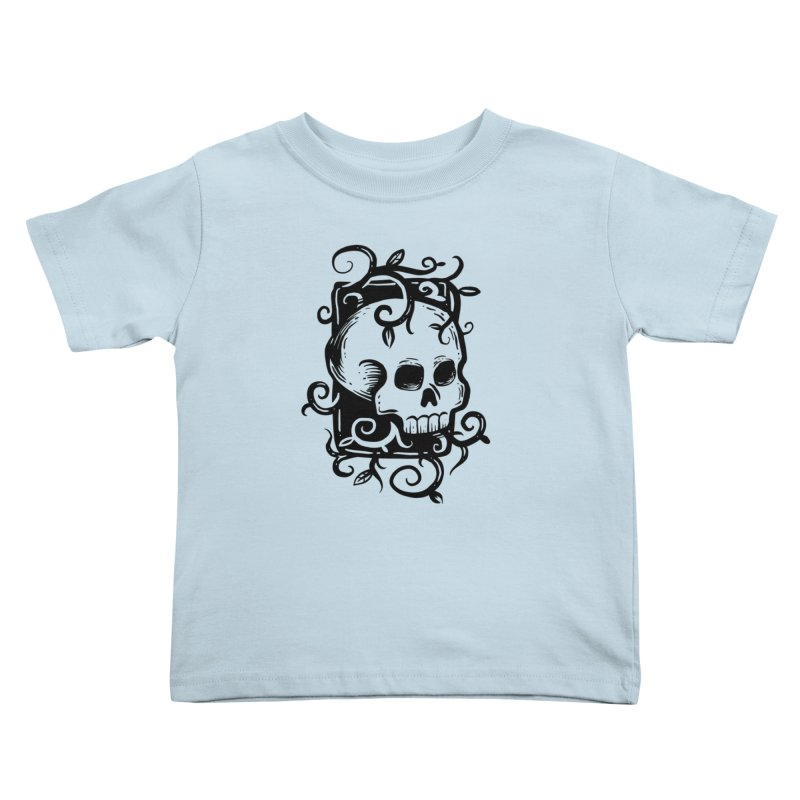 Retro Skull Kids Toddler T-Shirt by Os Frontis