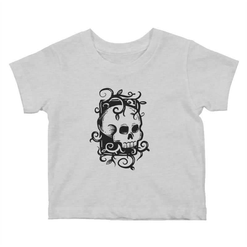 Retro Skull Kids Baby T-Shirt by Os Frontis