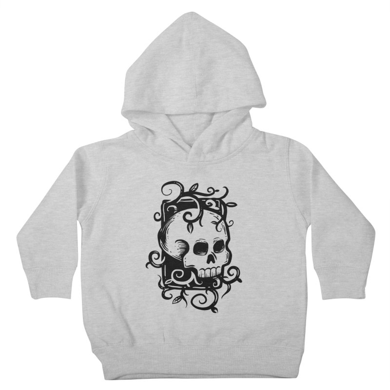 Retro Skull Kids Toddler Pullover Hoody by Os Frontis