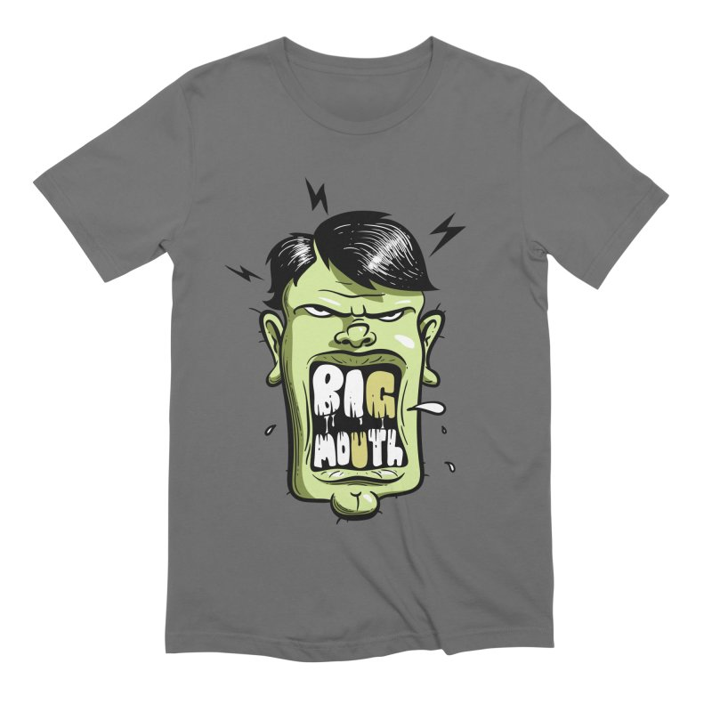 Big Mouth Men's T-Shirt by Os Frontis