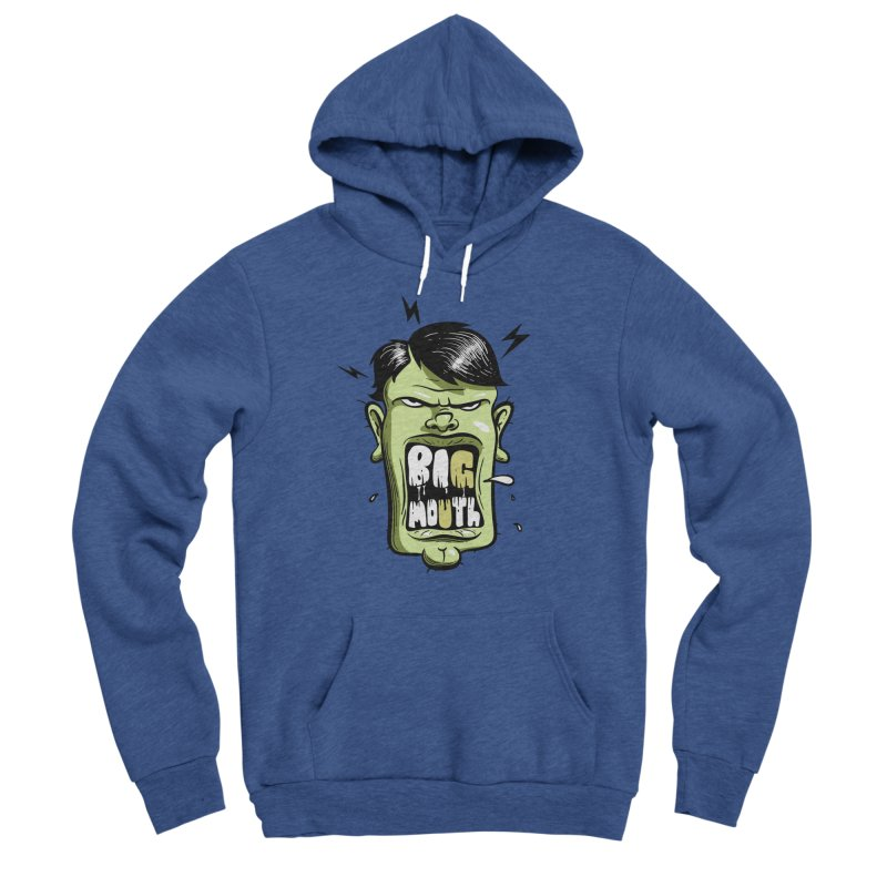 Big Mouth Men's Pullover Hoody by Os Frontis