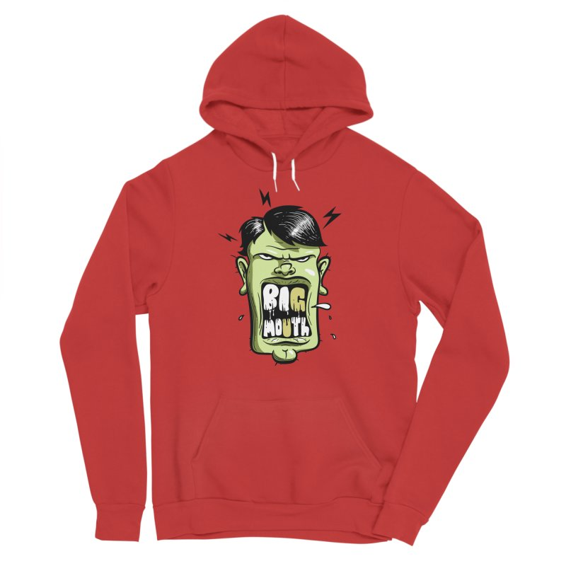 Big Mouth Women's Pullover Hoody by Os Frontis