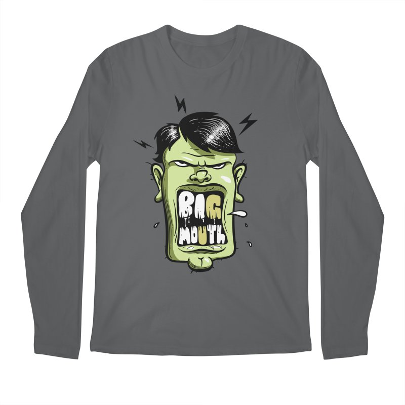 Big Mouth Men's Longsleeve T-Shirt by Os Frontis