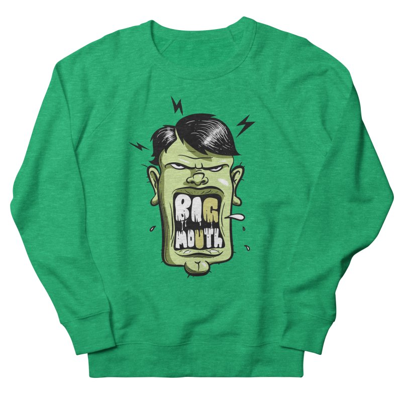 Big Mouth Women's Sweatshirt by Os Frontis