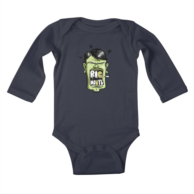 Big Mouth Kids Baby Longsleeve Bodysuit by Os Frontis
