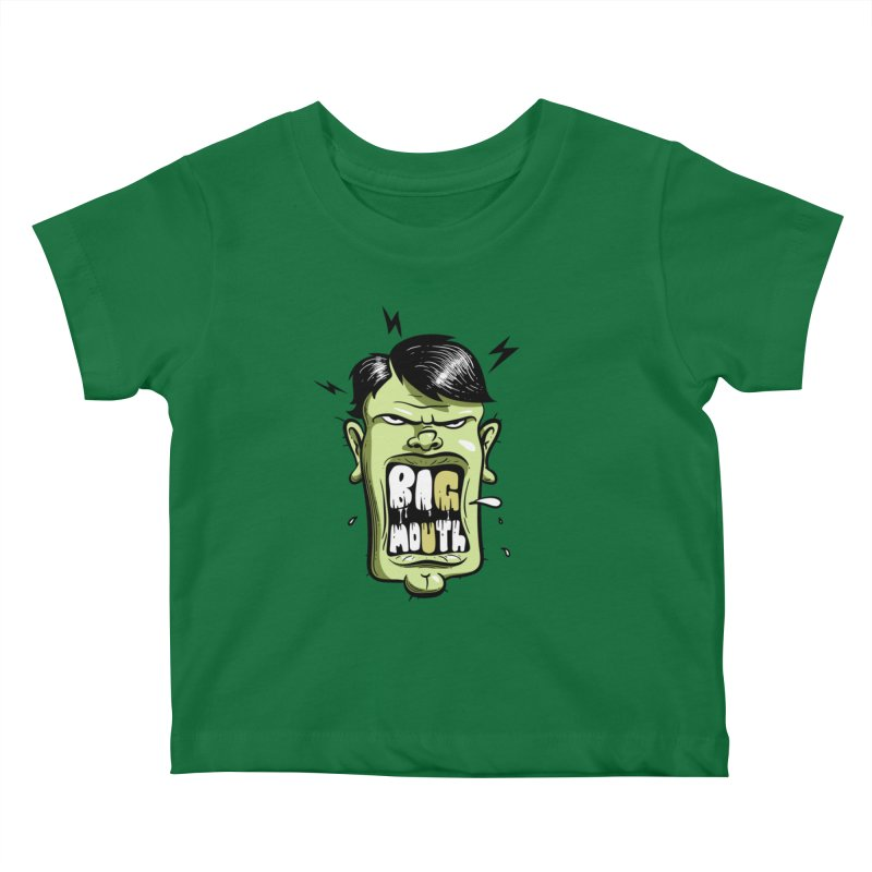 Big Mouth Kids Baby T-Shirt by Os Frontis