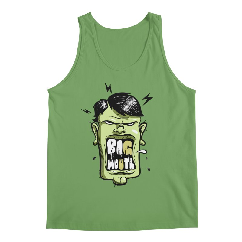 Big Mouth Men's Tank by Os Frontis
