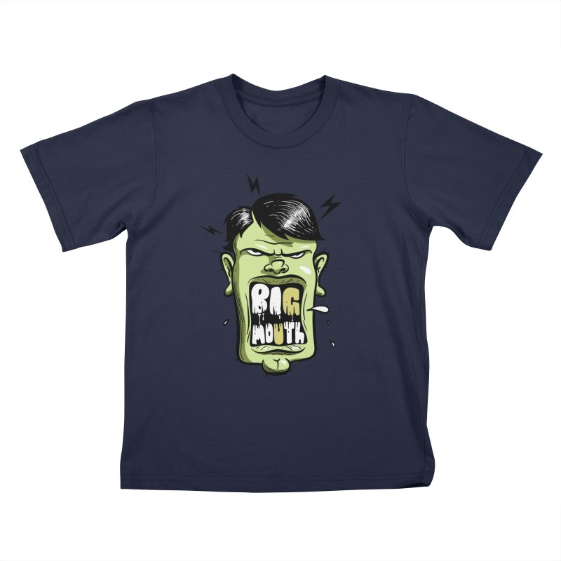 Big Mouth Kids T-Shirt by Os Frontis