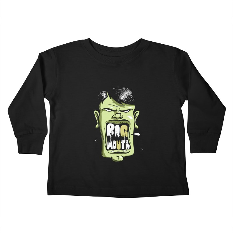 Big Mouth Kids Toddler Longsleeve T-Shirt by Os Frontis