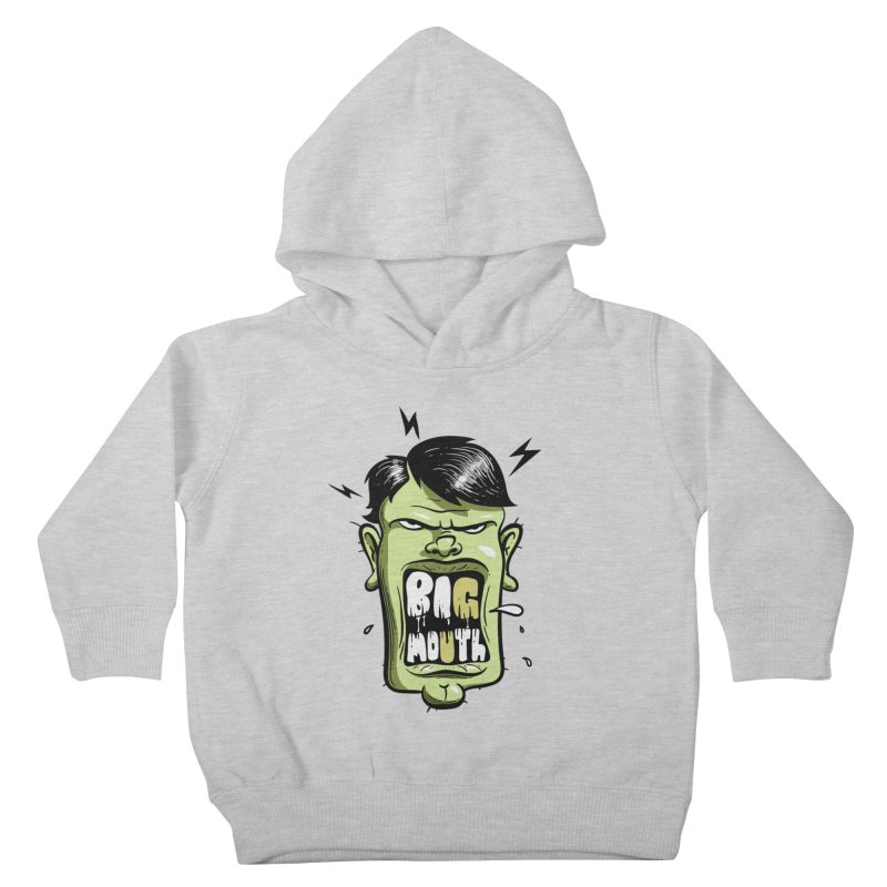 Big Mouth Kids Toddler Pullover Hoody by Os Frontis