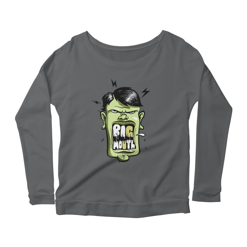 Big Mouth Women's Longsleeve T-Shirt by Os Frontis