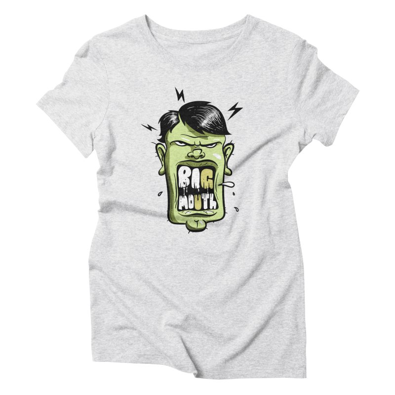 Big Mouth Women's T-Shirt by Os Frontis