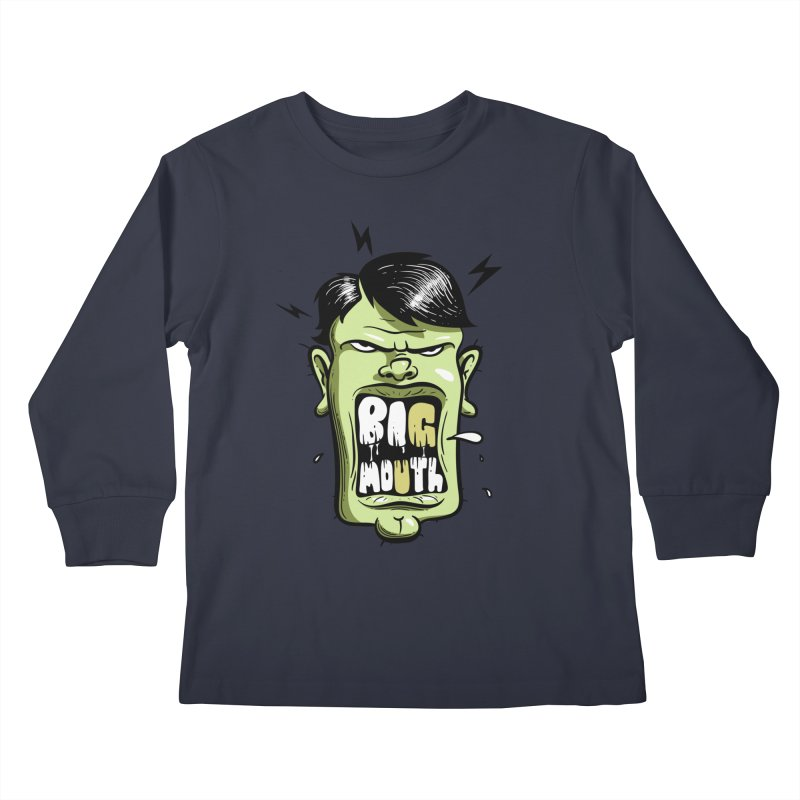 Big Mouth Kids Longsleeve T-Shirt by Os Frontis