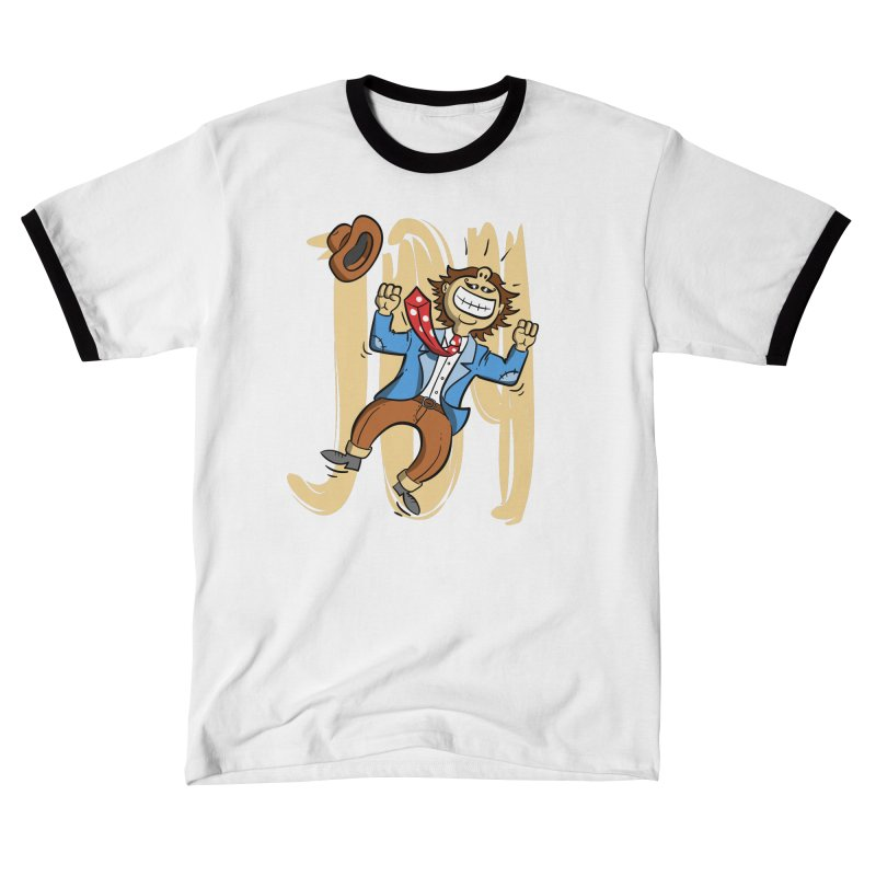 Joy and Happiness Men's T-Shirt by Os Frontis