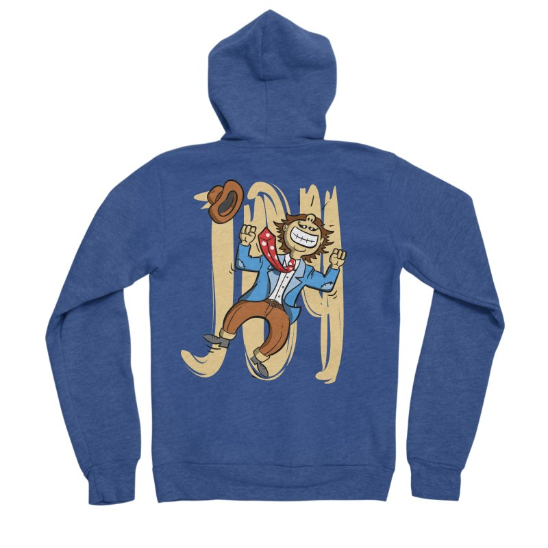 Joy and Happiness Men's Zip-Up Hoody by Os Frontis