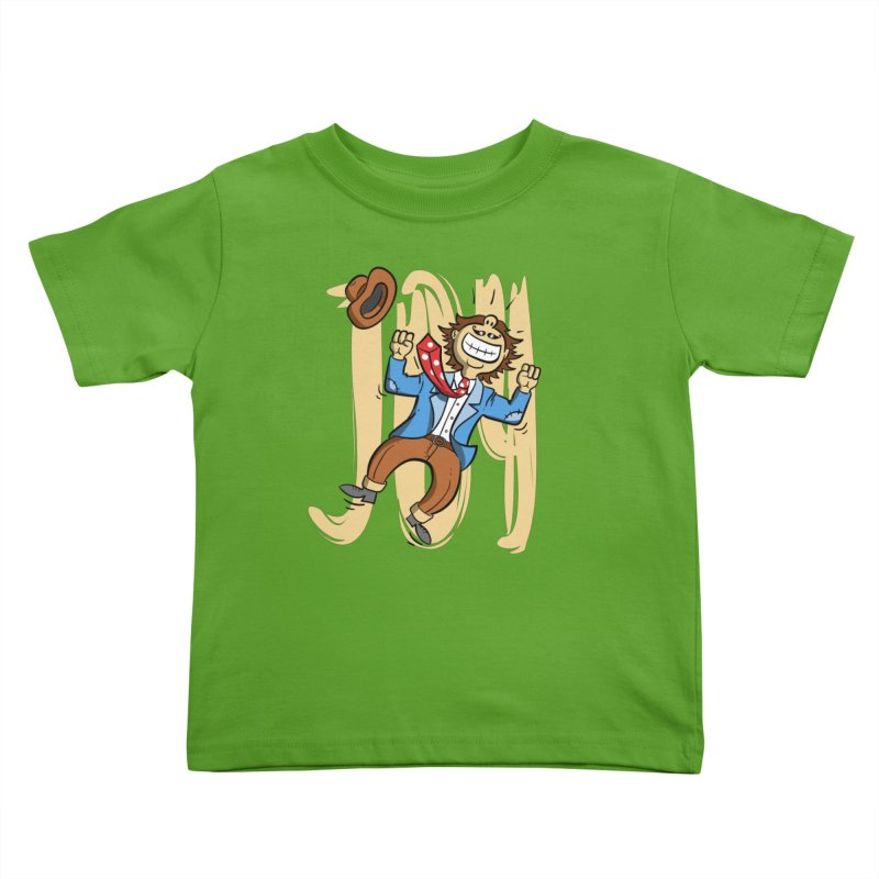 Joy and Happiness Kids Toddler T-Shirt by Os Frontis