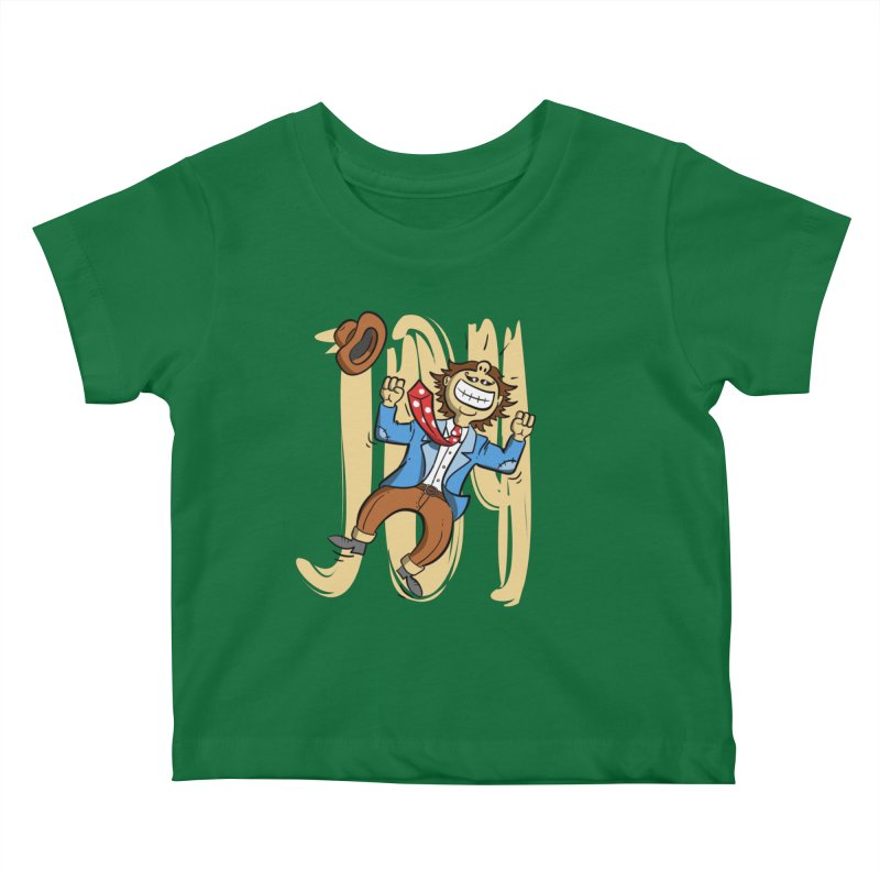 Joy and Happiness Kids Baby T-Shirt by Os Frontis