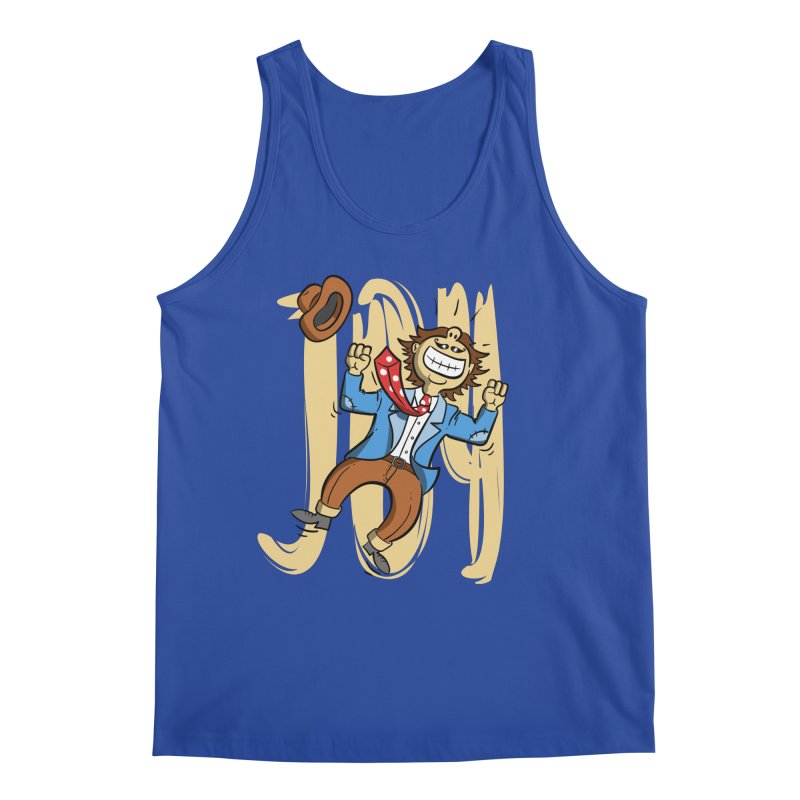 Joy and Happiness Men's Tank by Os Frontis