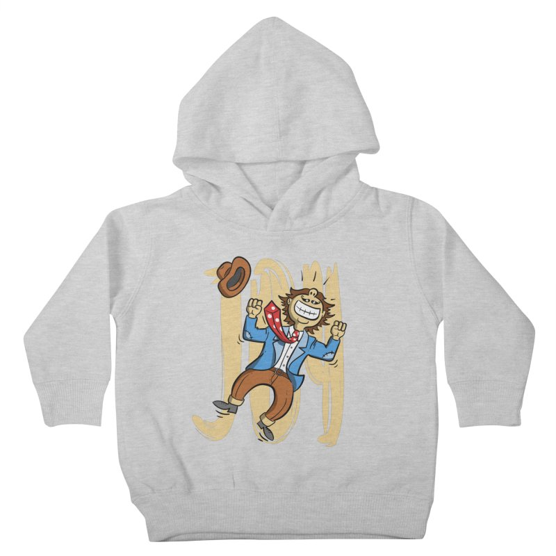 Joy and Happiness Kids Toddler Pullover Hoody by Os Frontis