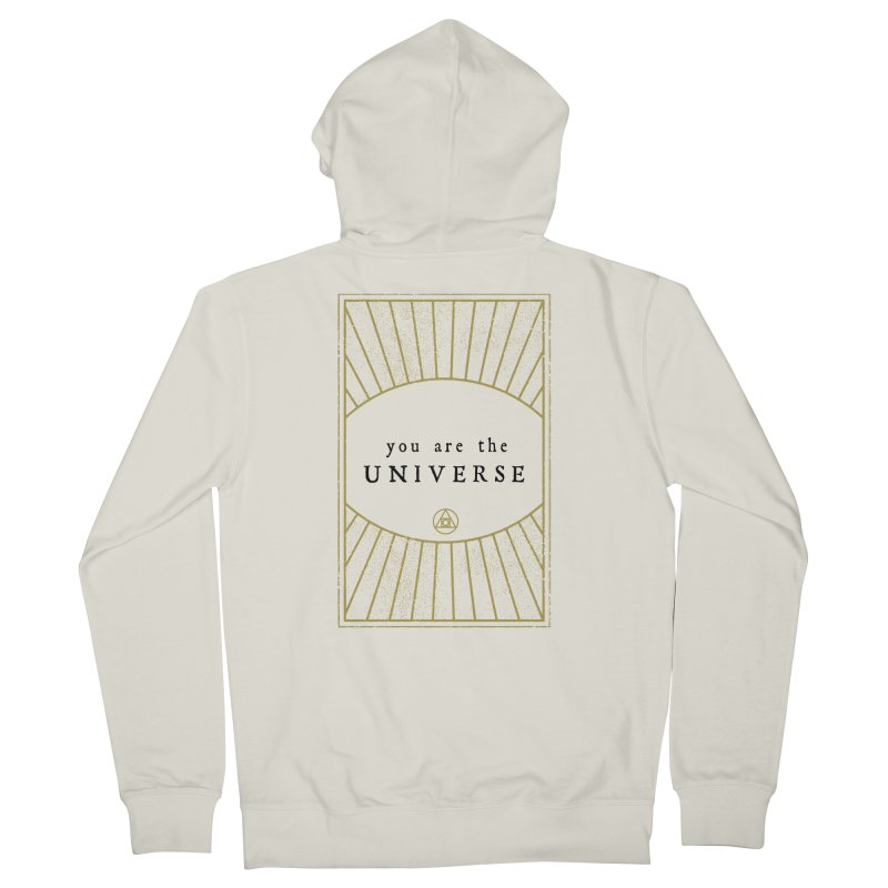 You are the Universe Men's Zip-Up Hoody by Os Frontis
