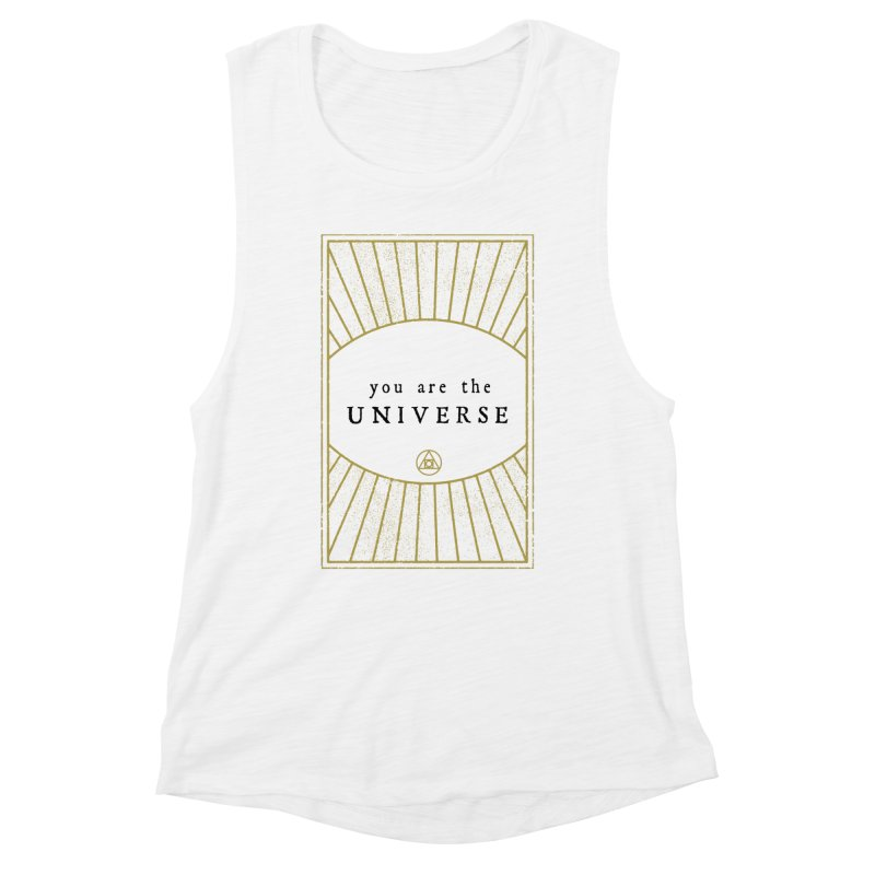 You are the Universe Women's Tank by Os Frontis