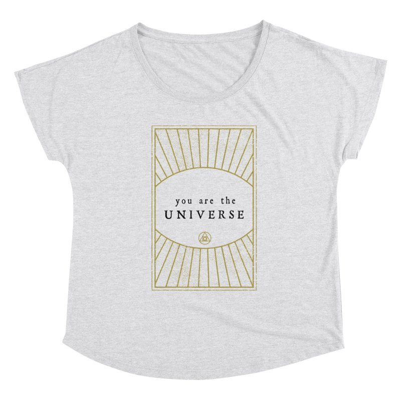 You are the Universe Women's Scoop Neck by Os Frontis