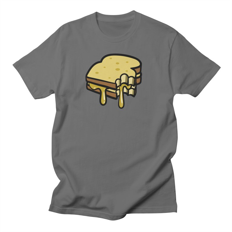 Grilled Cheese Sandwich Men's T-Shirt by Os Frontis