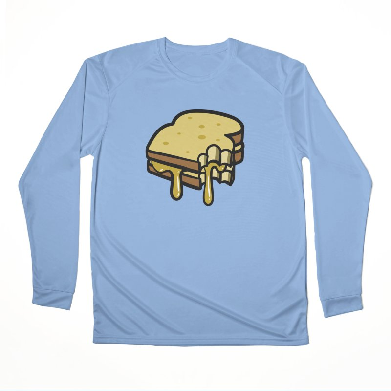 Grilled Cheese Sandwich Men's Longsleeve T-Shirt by Os Frontis
