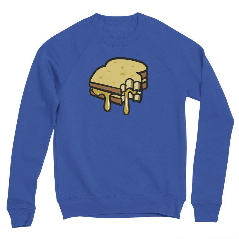 Grilled Cheese Sandwich Men's Sweatshirt by Os Frontis