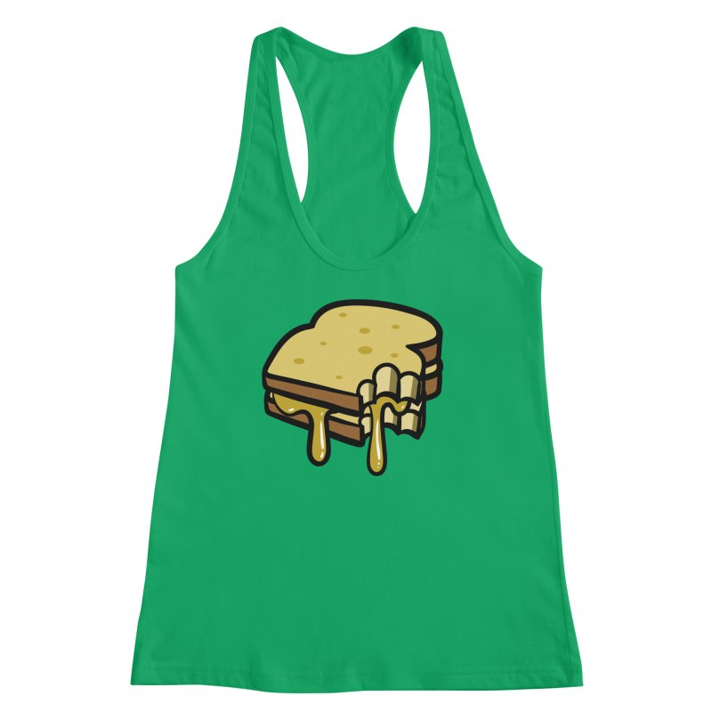 Grilled Cheese Sandwich Women's Tank by Os Frontis