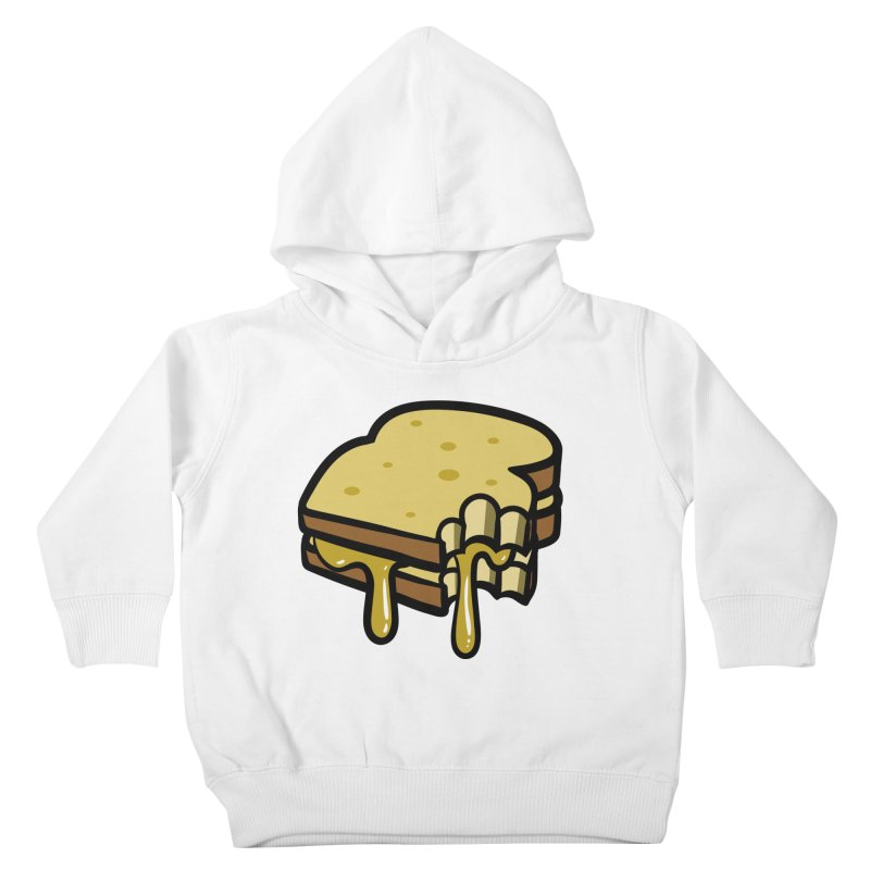 Grilled Cheese Sandwich Kids Toddler Pullover Hoody by Os Frontis