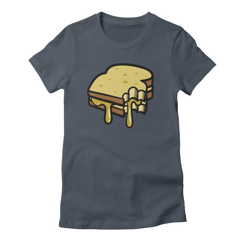 Grilled Cheese Sandwich Women's T-Shirt by Os Frontis