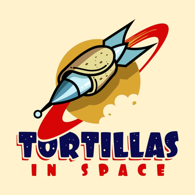 Tortillas in space Kids Baby T-Shirt by Os Frontis