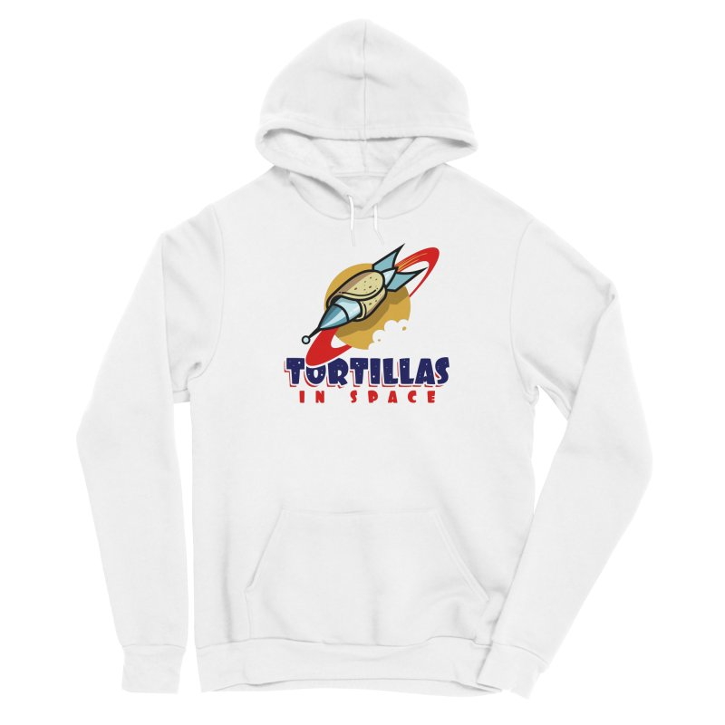 Tortillas in space Men's Pullover Hoody by Os Frontis