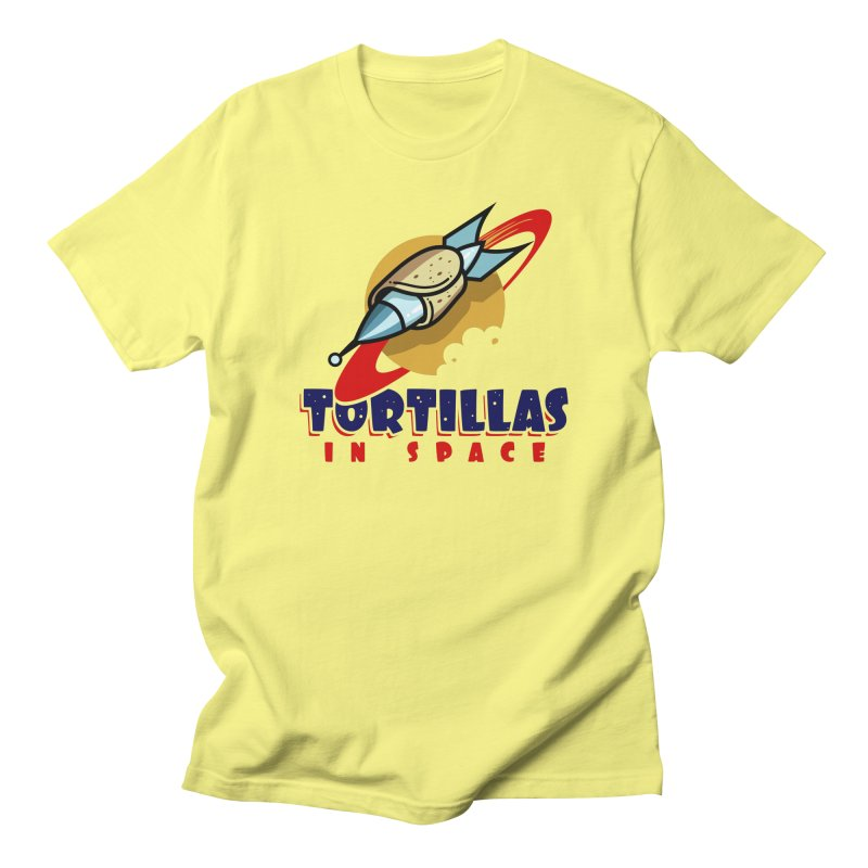 Tortillas in space Men's T-Shirt by Os Frontis