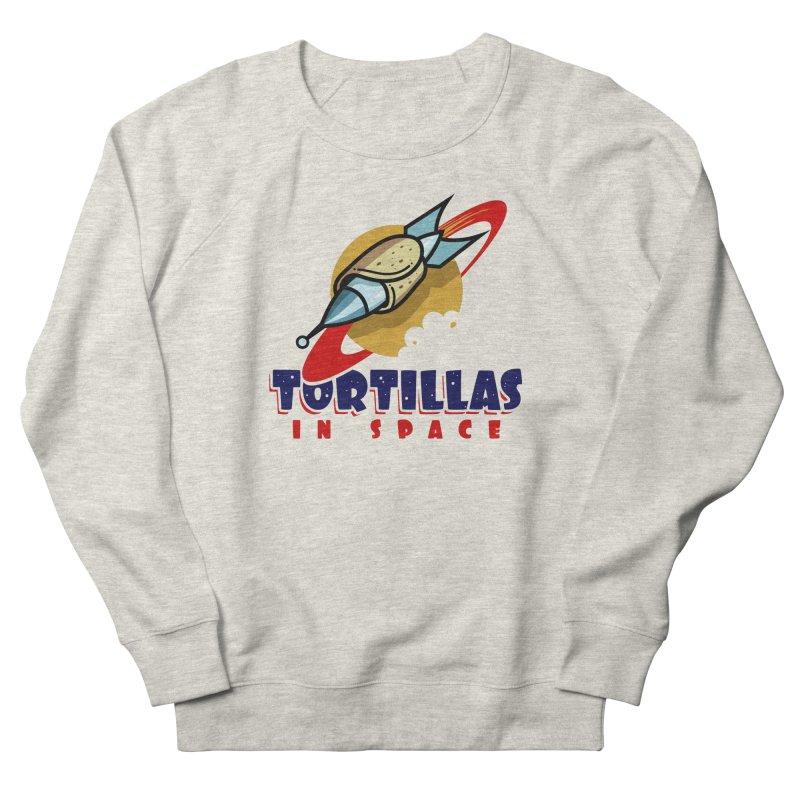 Tortillas in space Women's Sweatshirt by Os Frontis