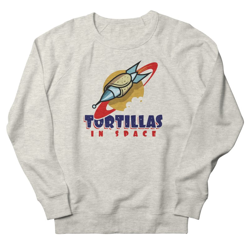 Tortillas in space Men's Sweatshirt by Os Frontis