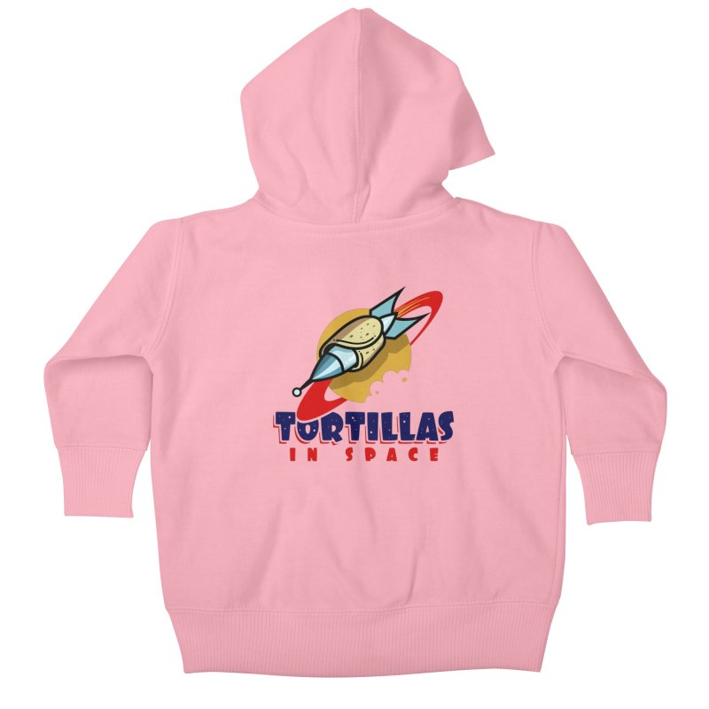 Tortillas in space Kids Baby Zip-Up Hoody by Os Frontis
