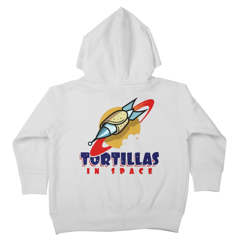 Tortillas in space Kids Toddler Zip-Up Hoody by Os Frontis