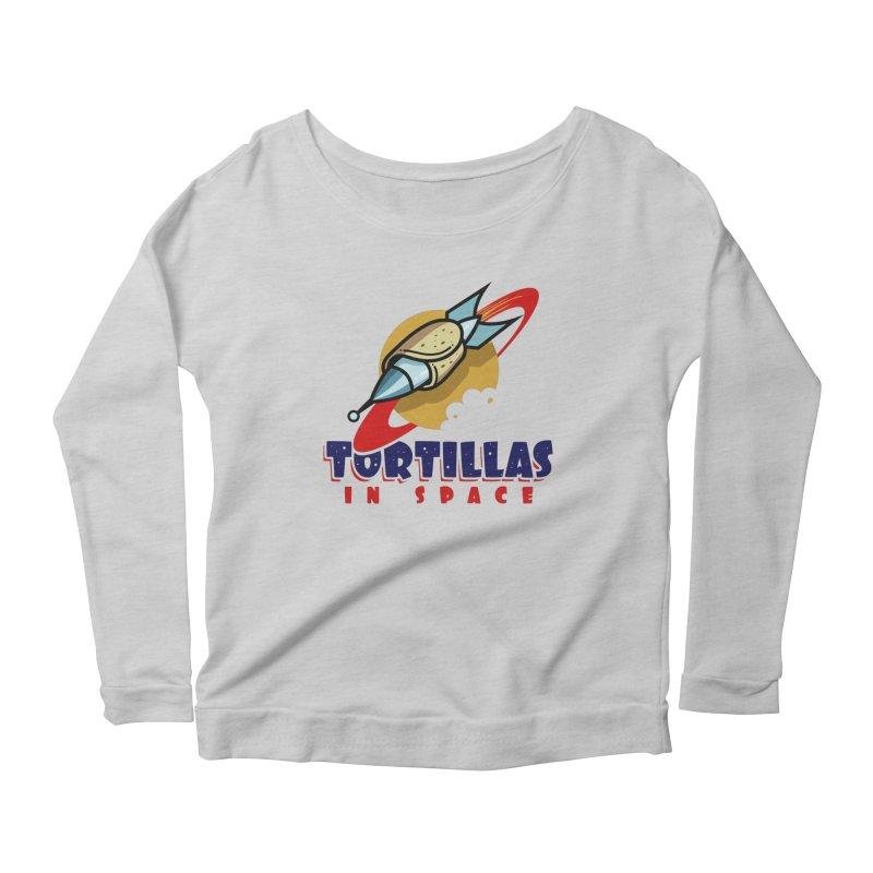 Tortillas in space Women's Longsleeve T-Shirt by Os Frontis