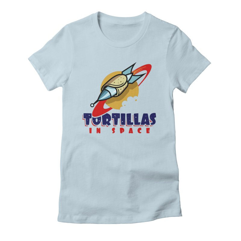 Tortillas in space Women's T-Shirt by Os Frontis