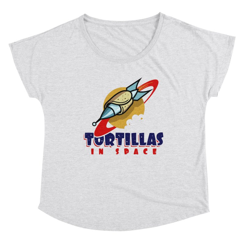 Tortillas in space Women's Scoop Neck by Os Frontis