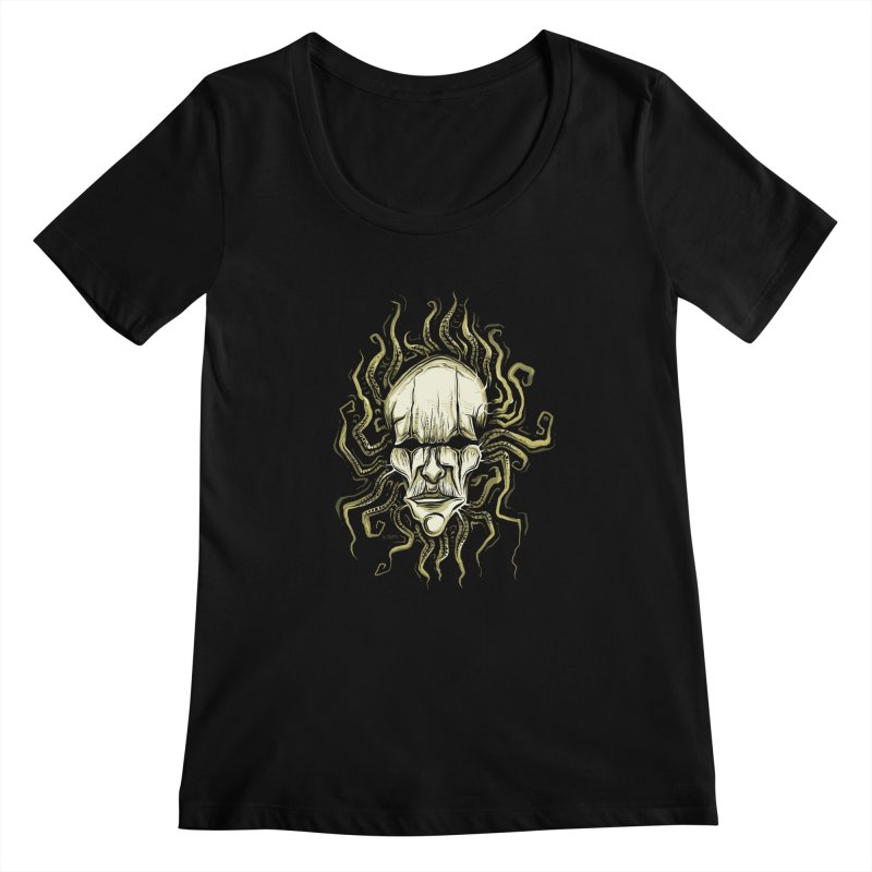 Medusa Women's Scoopneck by Os Frontis