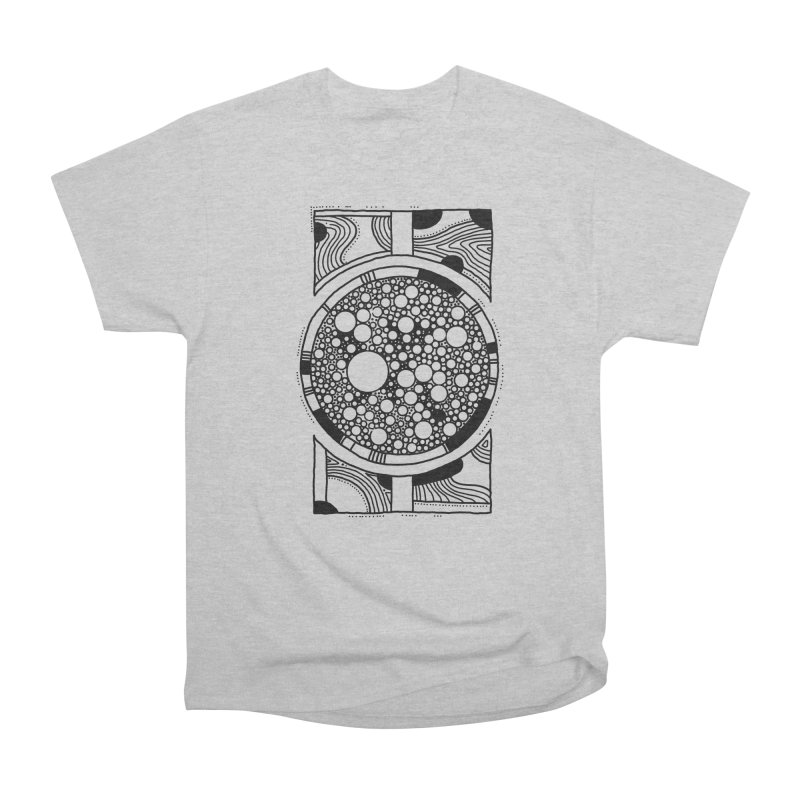 Psychedelic Circle Men's T-Shirt by Os Frontis